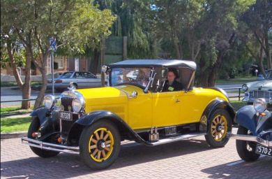 Alistair Buckley's 1929 Essex Challenger