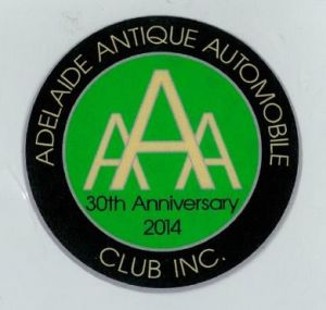 AAAC 30 Year Anniverary Decal